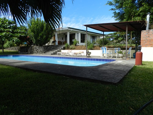 Main House: View from the pool