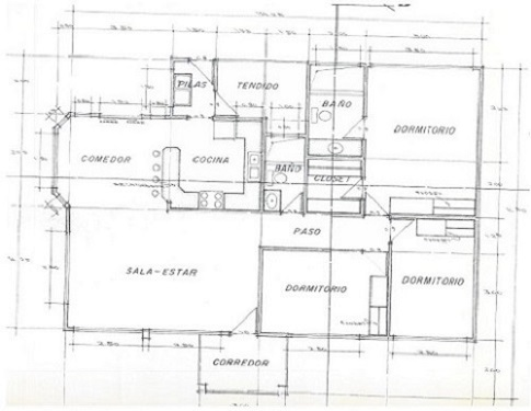 Floor plan main house